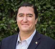 Fotografía oficial del funcionario público Francisco Xavier Orendáin De Obeso